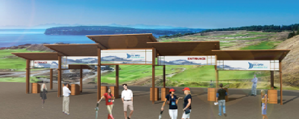 Metal Roof Chambers Bay Tacoma US Open